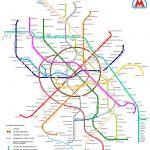 Схема нового метро Москвы в 2018 году